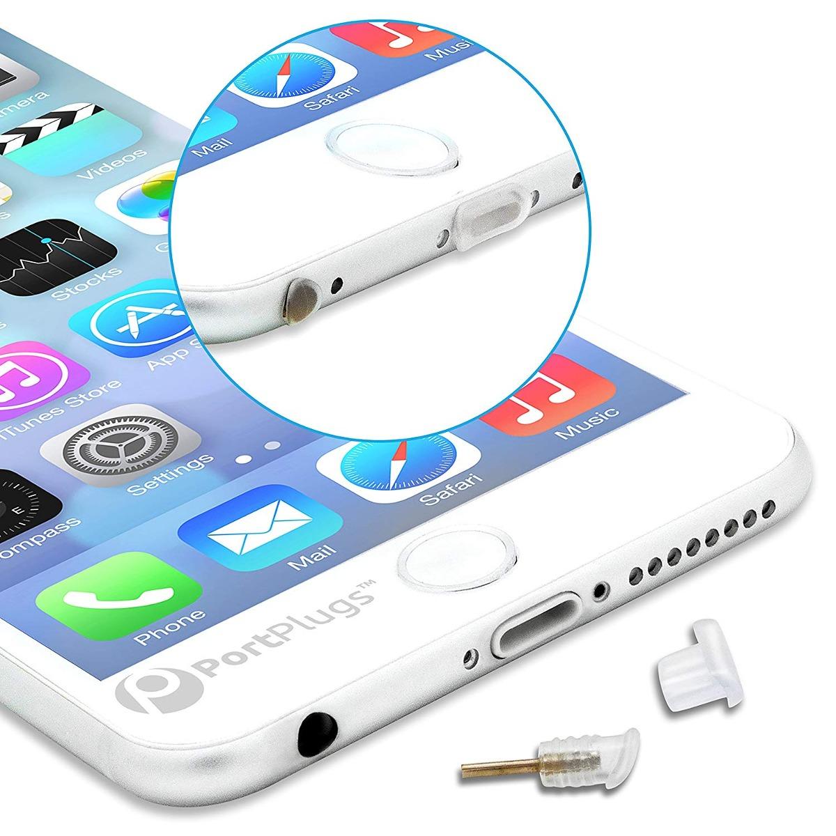 Carcasa Juego De Enchufe De Polvo Para Iphone 6 Envio Gratis