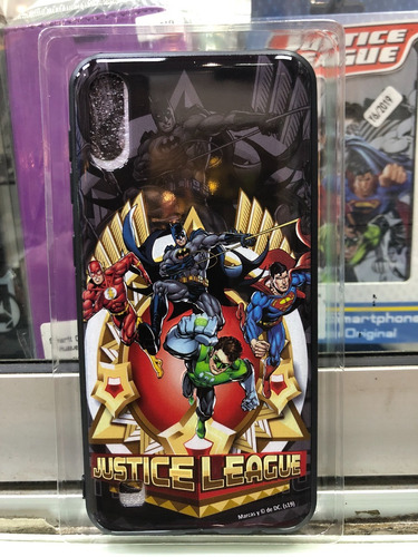 carcasa justice league huawei p smart 2019 licencia original