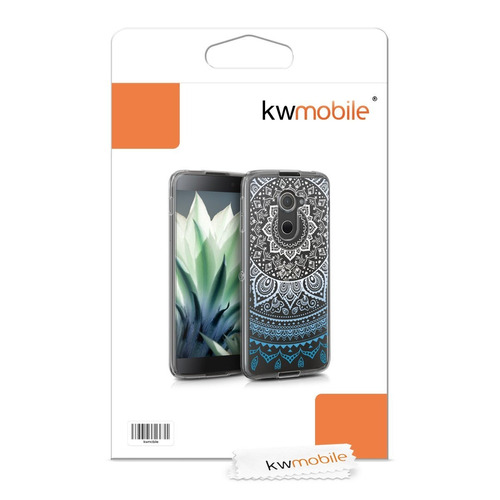 carcasa kwmobile crystal tpu silicone case for blackberry dt