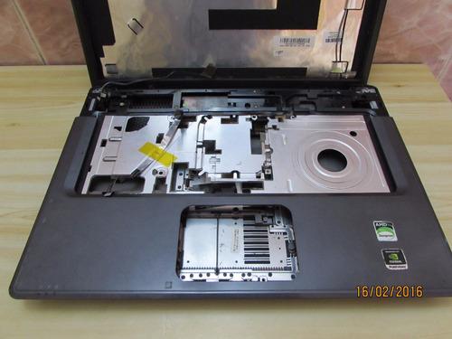 carcasa laptoq compaq presario f500