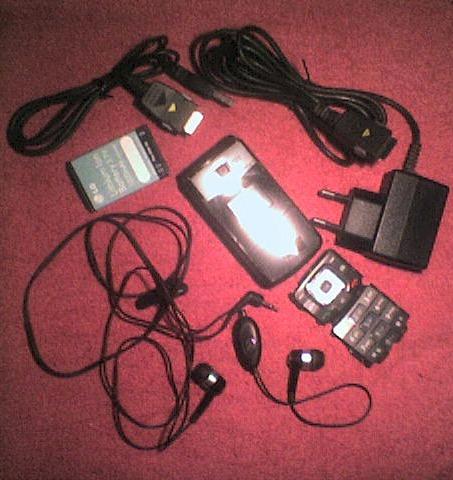 carcasa lg mg 295 + bateria + cable datos y mas