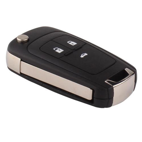 carcasa llave control 3 botones chevrolet cruze tracker