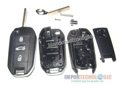 carcasa llave control peugeot 508 2008 301 408 308 3008 208