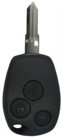 carcasa llave control renault sandero 3 botones envio expres