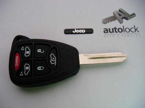 carcasa llave de mando para jeep grand cherokee 2008 - 2010