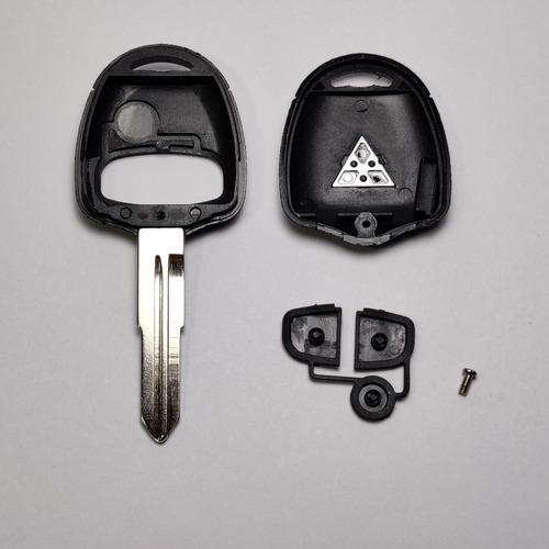 carcasa llave mitsubishi l200 montero con logo