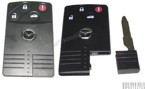 carcasa llave tarjeta mazda 6 rx7 y rx9 tipo navaja mazda 3