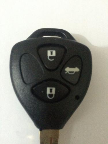 carcasa llave toyota del control 3 botones