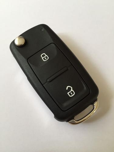 carcasa llave volkswagen amarok 2 botones c/ logo