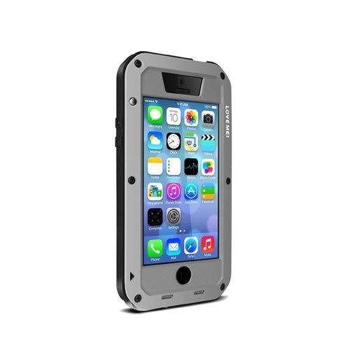 952a02b2e6f Carcasa Love Mei iPhone 5c Silver Proglobal - $ 21.990 en Mercado Libre