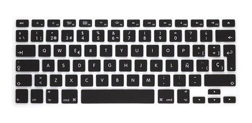 carcasa mac air 13 marmol negro y teclado 13 español negro