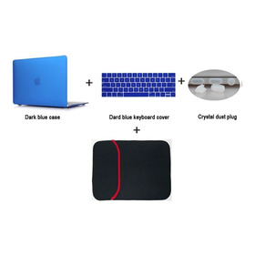 Carcasa Mac Macbook Air 13 Teclado+carcasa+tapones+funda