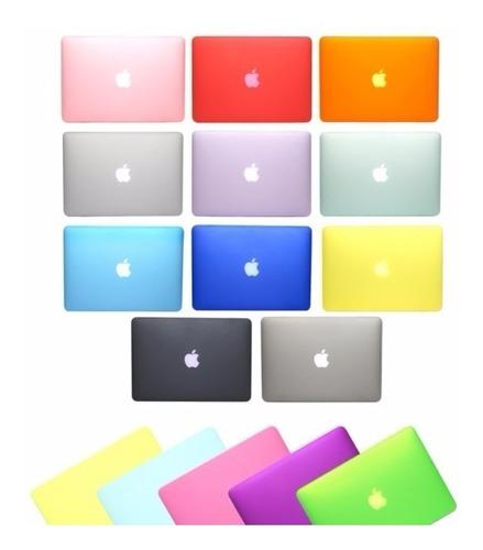 carcasa macbook air 13 / 13.3 colores matte