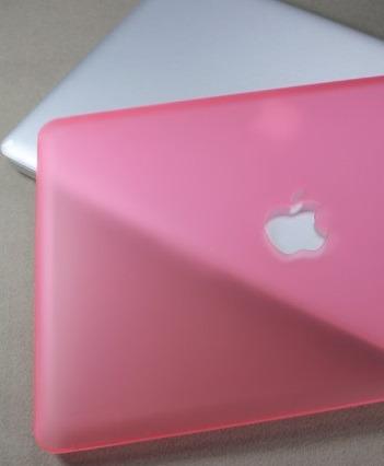 carcasa macbook pro 13 con cd -10 colores - troquel manzana