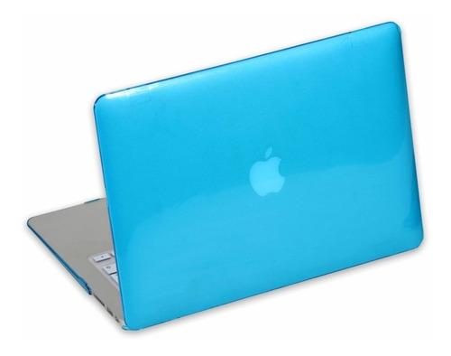 carcasa macbook pro 13 con protectora de pantalla y teclado
