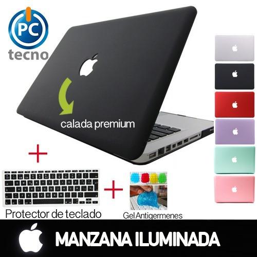 carcasa macbook pro 13,15,11,12, manzana calada.stgo centro
