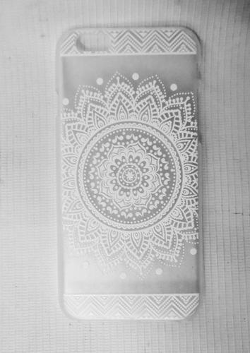 carcasa mandala iphon 6 acrilico diferentes diseños