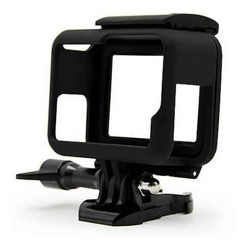 carcasa marco gopro hero 5 6 7 black mount go pro generico