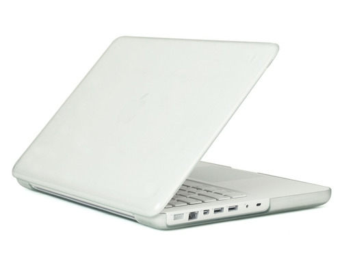 carcasa mate para macbook white, blanco unibody sin troquel
