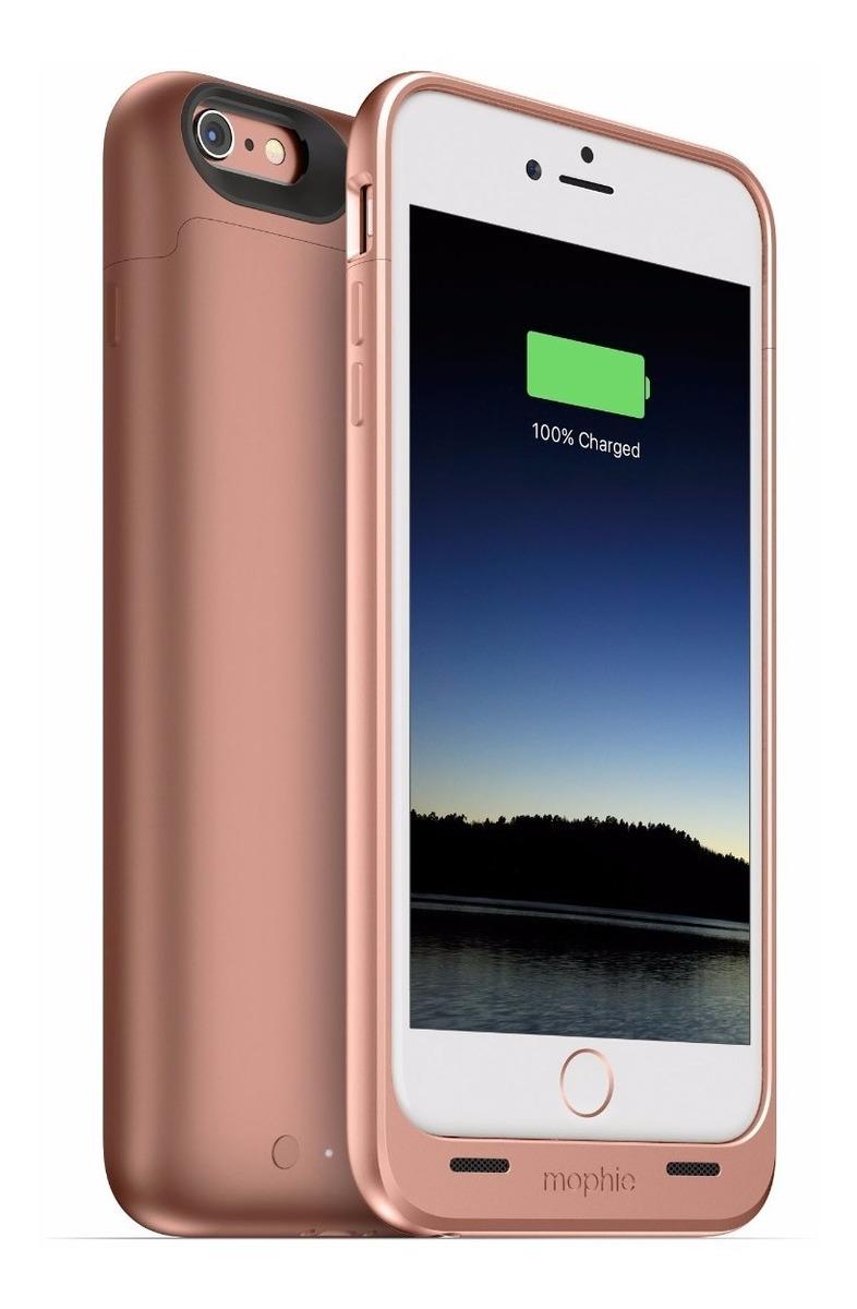 9e57c202c09 carcasa mophie juice 2,600mah iphone 6s plus/6 plus rosa. Cargando zoom.