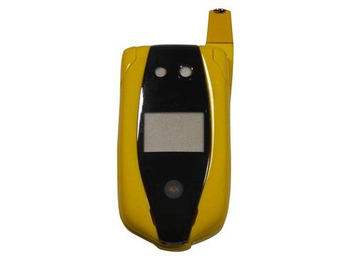 carcasa motorola nextel i877 sin logo ferrari amarilla nueva