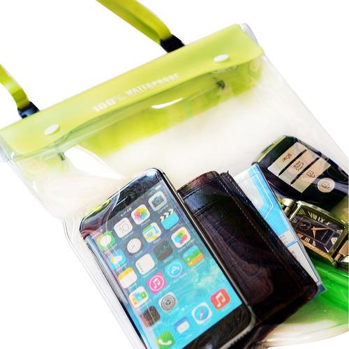 carcasa mpac b50funda impermeable smartphone seco bolsa pa