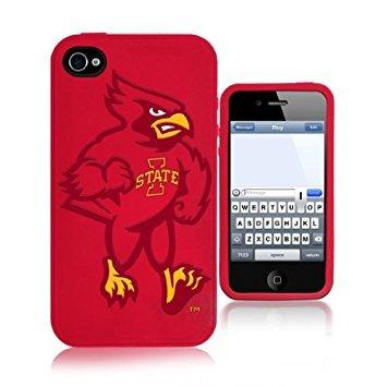 carcasa ncaa iowa state cyclones mascot soft iphone case