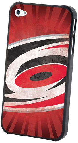 carcasa nhl carolina hurricanes iphone 4/4s logotipo grande