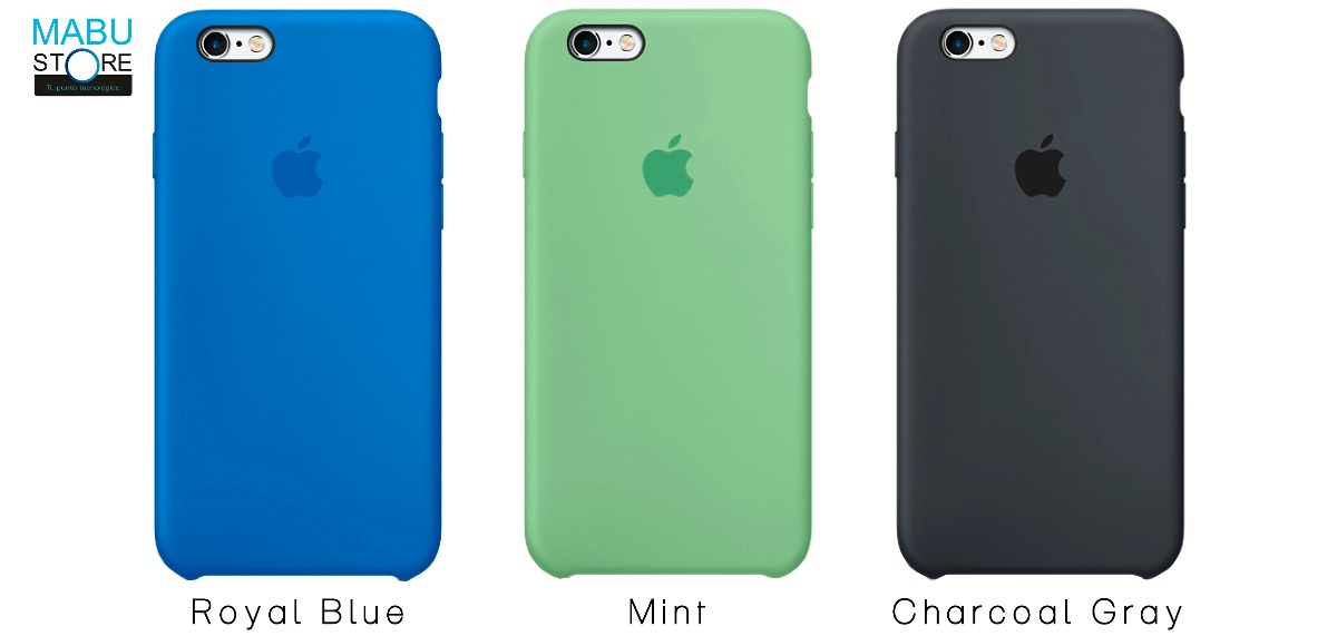 iphone 6s carcasa silicona