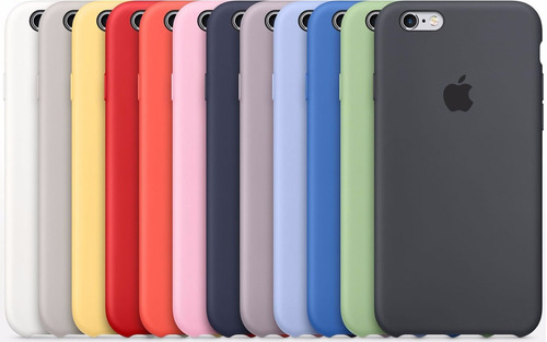 carcasa original funda silicona  iphone 6s 6s plus 7 7 plus