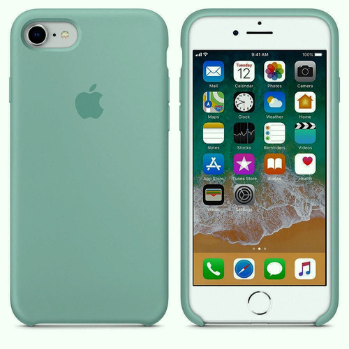 carcasa original iphone silicona case 6, 7 y 8