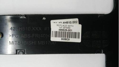 carcasa panel bisel del teclado compaq cq50  486626-001