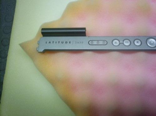 carcasa panel de encendido dell latitude d630