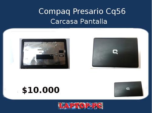 carcasa pantalla compaq presario cq56