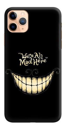 carcasa para celular aquí todos estamos locos - phonetify