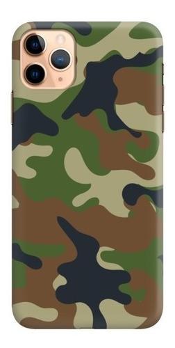 carcasa para celular camuflado bosque - phonetify