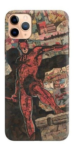 carcasa para celular daredevil comic collage - phonetify