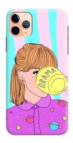 carcasa para celular lo mío es el drama - phonetify