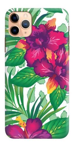 carcasa para celular orquídea tropical - phonetify