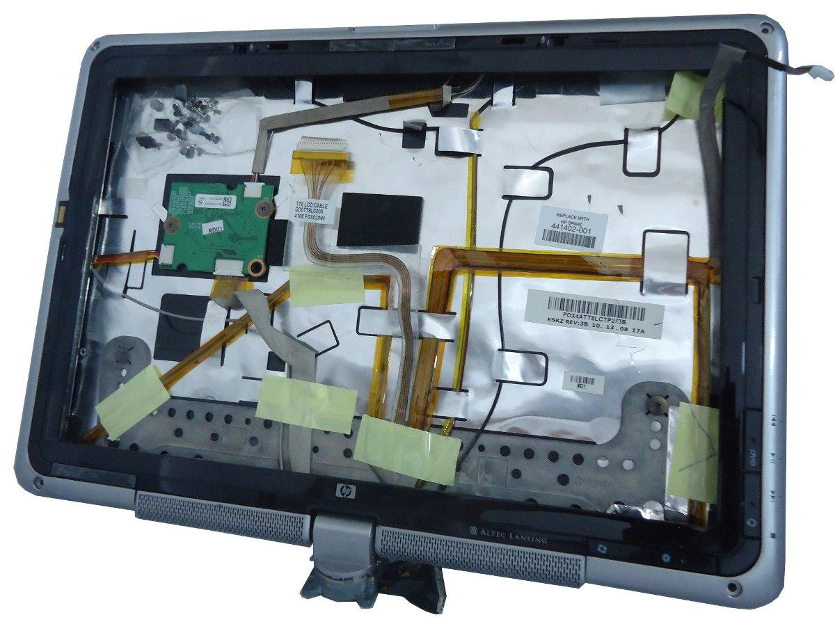carcasa para display hp pavilion tx1000 n p 441402 001 en mercado libre. Black Bedroom Furniture Sets. Home Design Ideas
