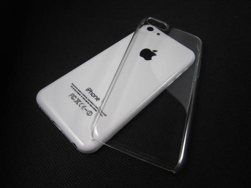 carcasa para iphone 5c acrilico transparente
