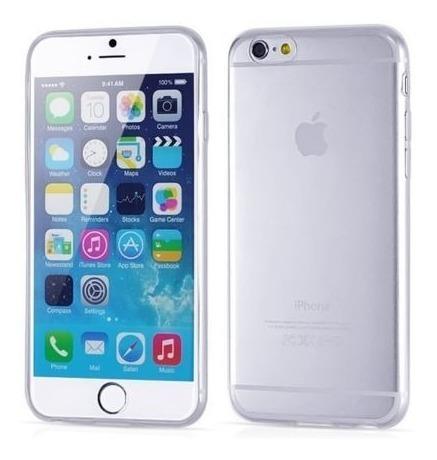 carcasa para iphone 6  transparente blanda, cubre borde