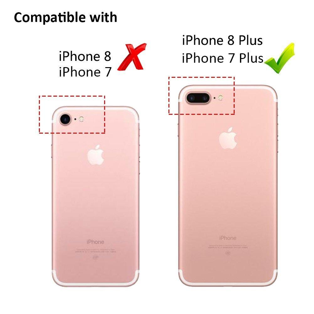 venta en línea encontrar mano de obra como escoger Carcasa Para iPhone 7 Plus, iPhone 8 Plus, Estampado Floral