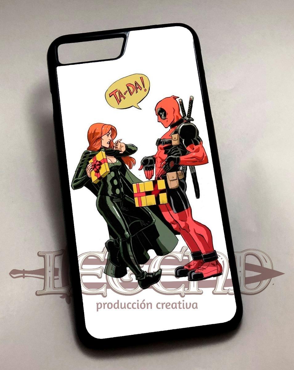 carcasa deadpool iphone 8 plus