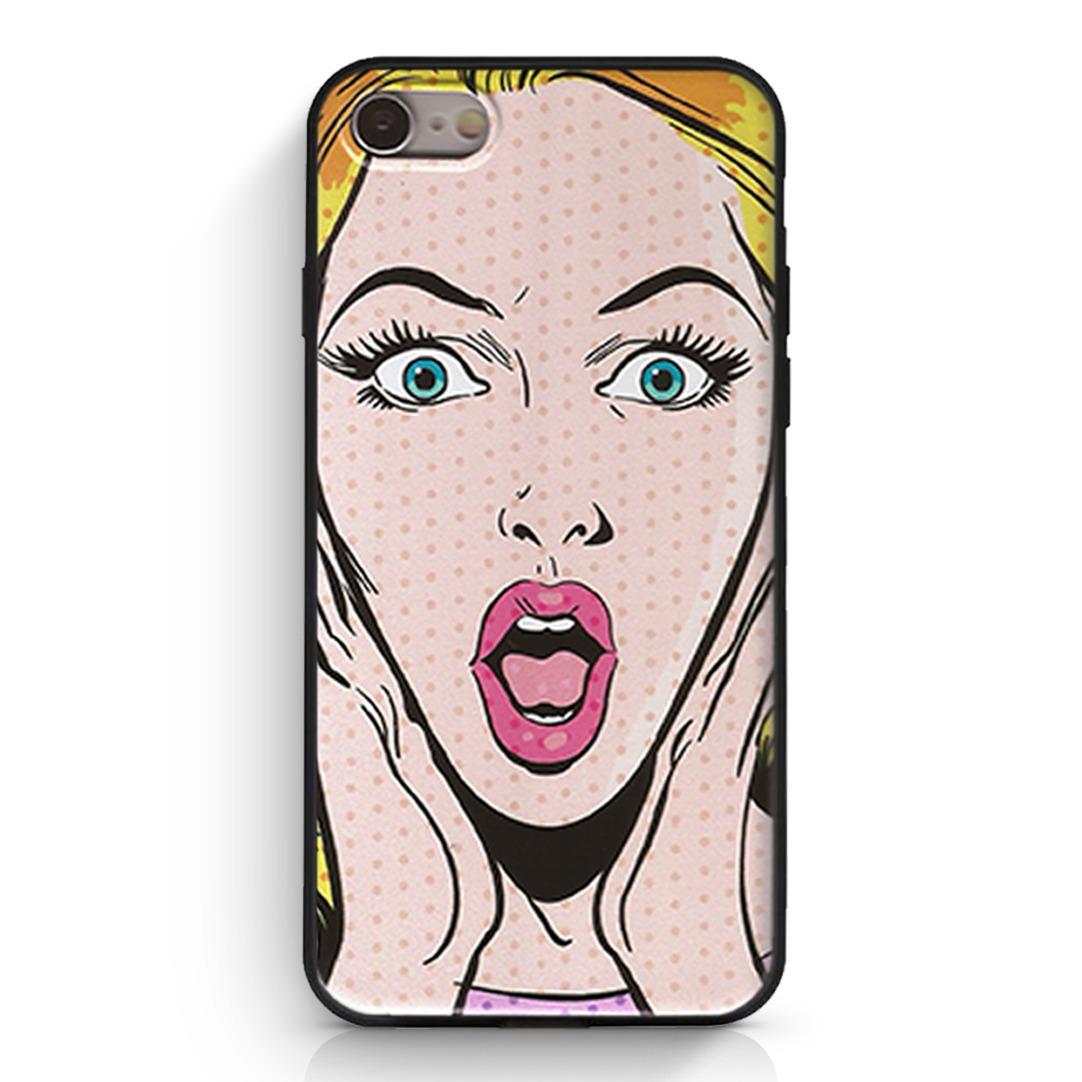 d3dccce7822 Carcasa Pop Art Surprise iPhone 7/8 - $ 6.990 en Mercado Libre