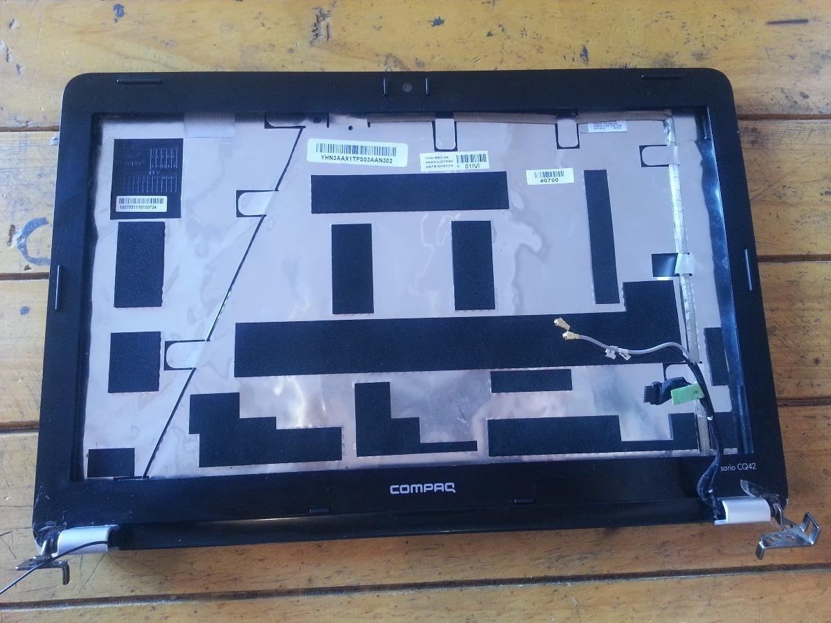 Carcasa Posterior Y Marco Frontal Laptop Hp Compaq Cq42 - Bs. 5.499 ...