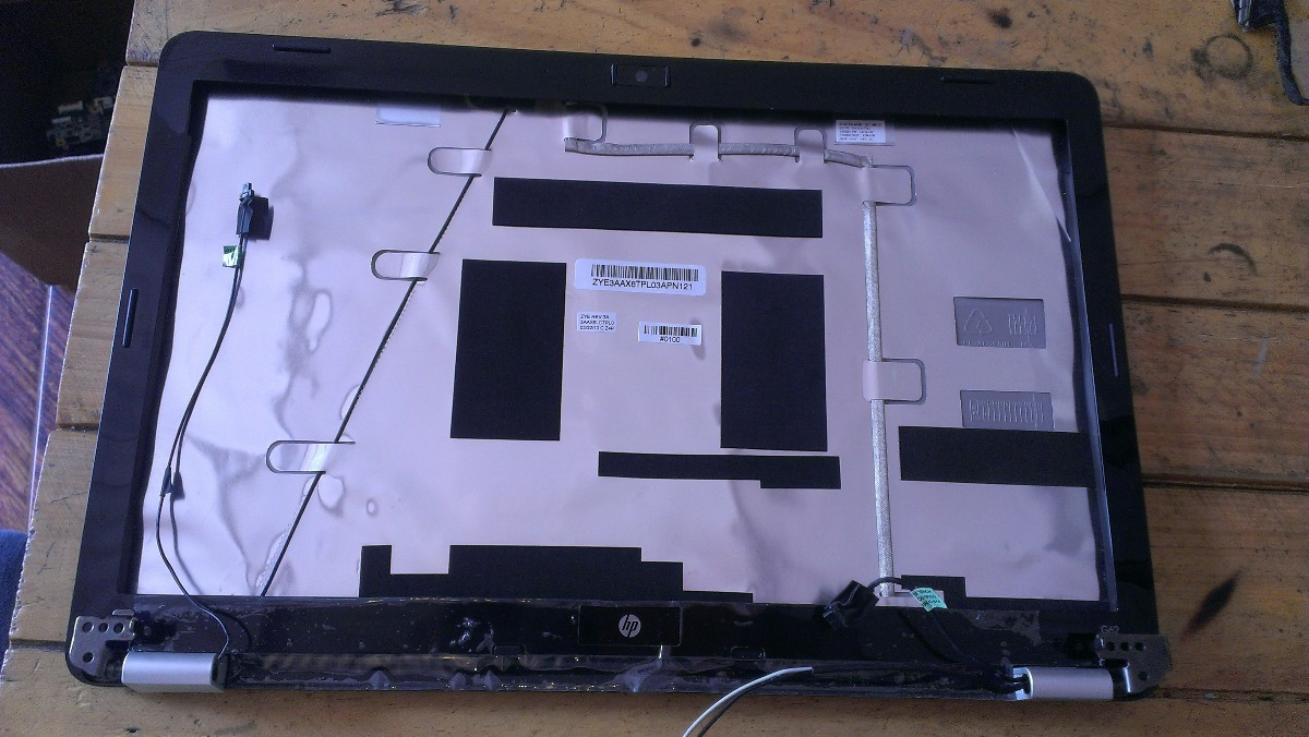 Carcasa Posterior Y Marco Frontal Laptop Hp Pavilion G62 - Bs ...