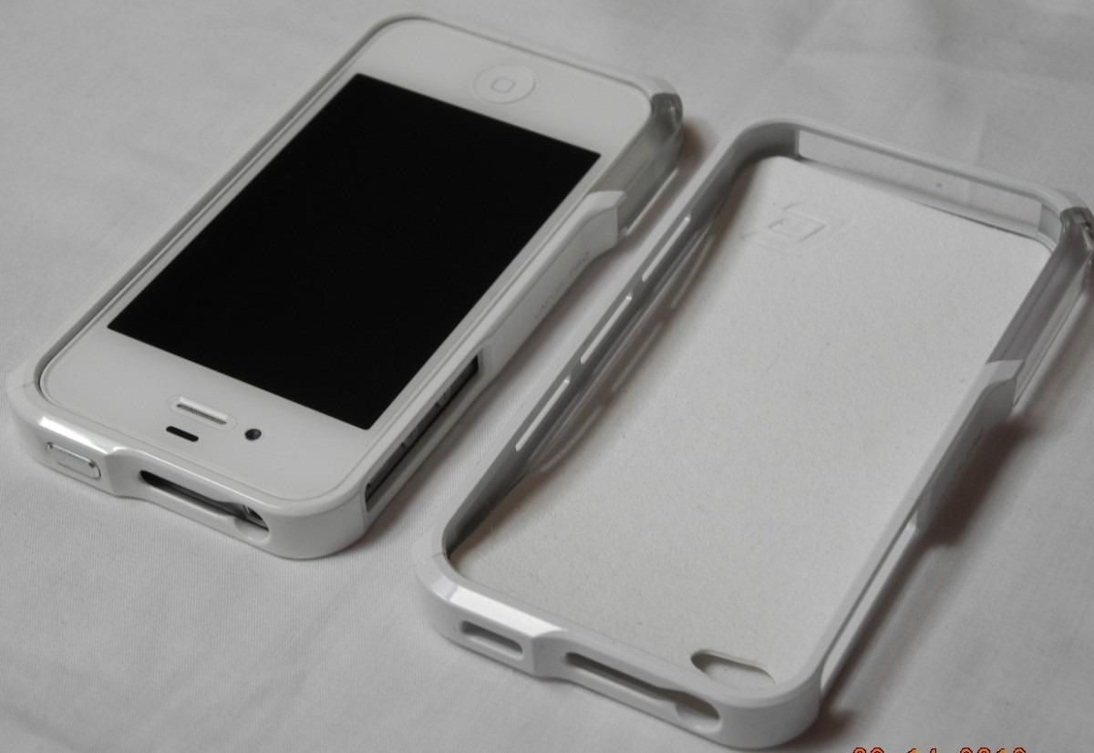 4999d896658 Carcasa Vapor Pro Aluminio Para iPhone 4 - 4s Blanco - $ 7.990 en ...