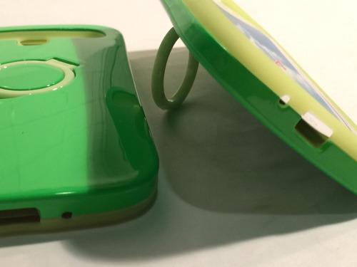 carcasa protector celular samsung s4 goma fluorecentes