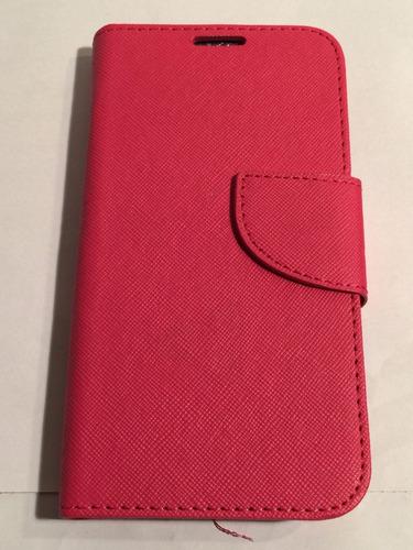 carcasa protector celular samsung s5  flip libro agenda